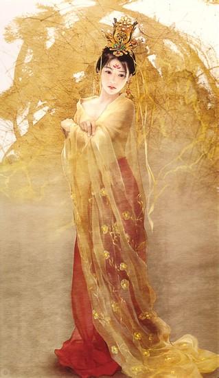 画风或者气质和长相符合我审美的古装美女(手